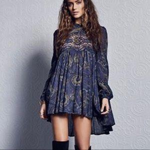 • Free People Sweet Thing Lace Tunic/Dress M •